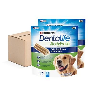Nestle Purina Dentalife ActivFresh Chicken Large Chewy Dog Treats