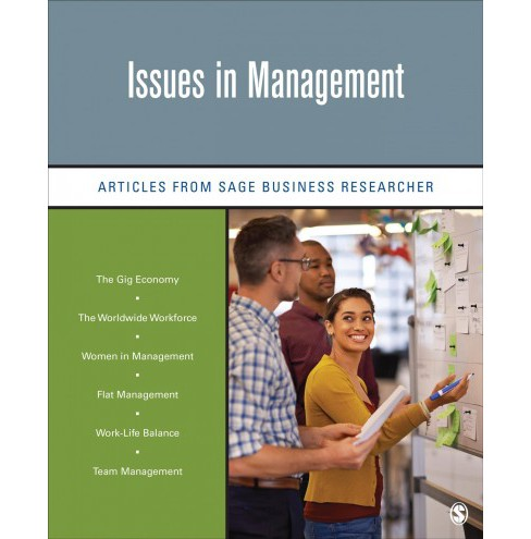 Issues in Management : Articles from Sage Business Researcher -  (Paperback) - image 1 of 1