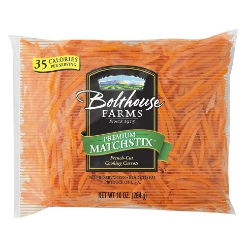 Bolthouse Farms Premium Matchstix French-Cut Cooking Carrots - 10oz - image 1 of 1