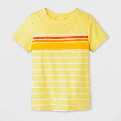 Toddler Boys' Short Sleeve T-Shirt - Cat & Jack™ Yellow 3T