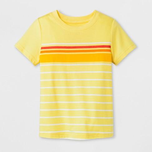 59d7d295c2 Toddler Boys' Short Sleeve T-Shirt - Cat & Jack™ Yellow : Target