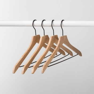 4pk Wood Hanger Natural - Made By Design™