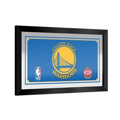 NBA Golden State Warriors Team Logo Wall Mirror