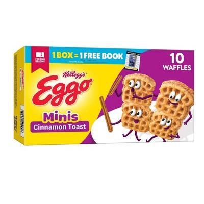 Kellogg's Eggo Cinnamon Toast Frozen Waffles - 10.75oz/10ct