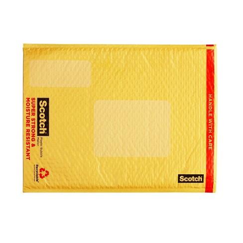 "Scotch 12.5"" x 18"" Plastic Bubble Cushion Mailer - image 1 of 3"