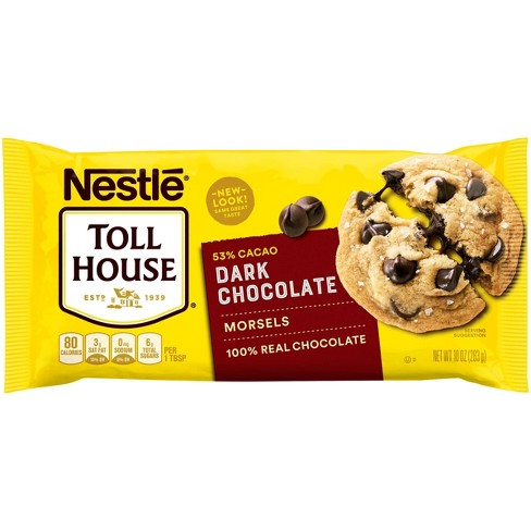 Nestle Toll House Dark Chocolate Morsels - 10oz - image 1 of 4