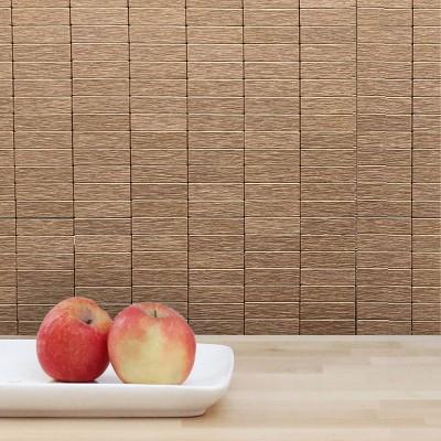 DIP Design is Personal 10pk Copper 12'' x 12'' Tiles Backsplash