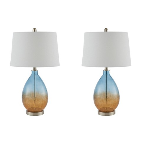 2pc Cortina Table Lamp Blue (Lamp Only) - image 1 of 4