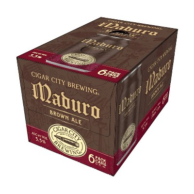 Cigar City Maduro Brown Ale Beer - 6pk/12 fl oz Cans