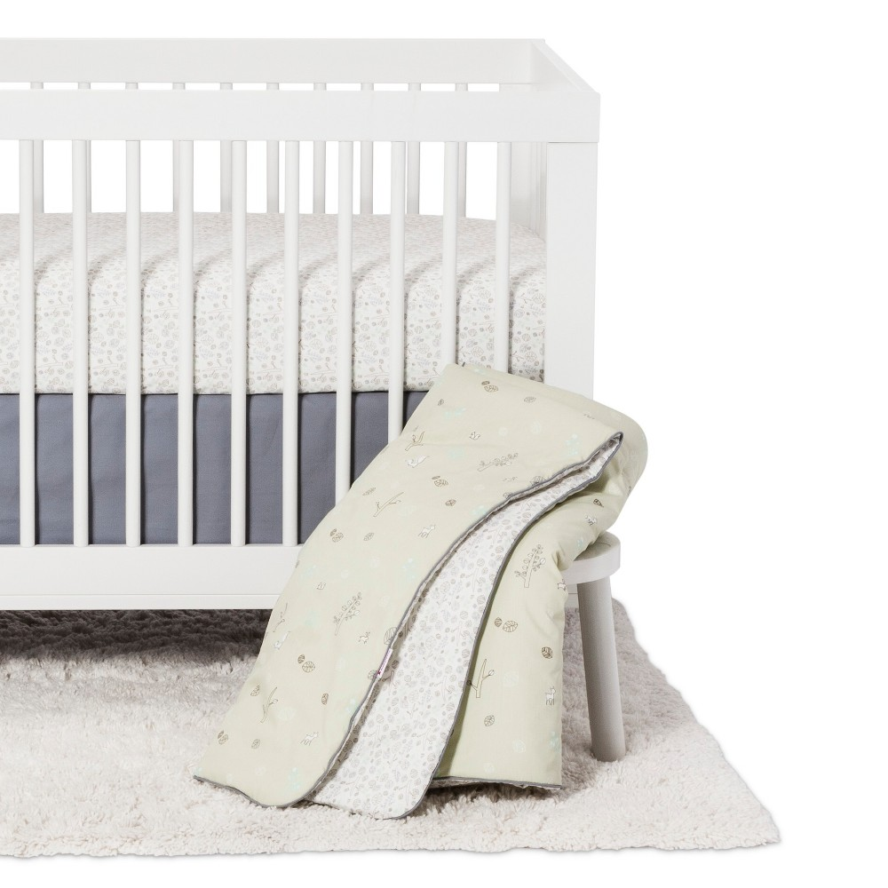 Image of Babyletto 5pc Crib Bedding Set - Tranquil Woods