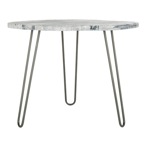 Mindy Wood Top Dining Table - Safavieh - image 1 of 6