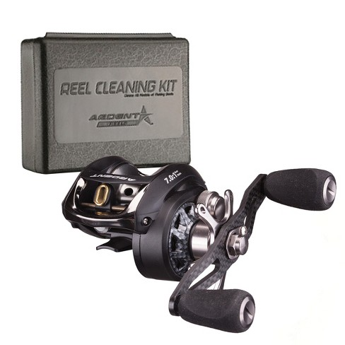 Ardent C-Force Baitcaster Bundle with Reel Kleen Cleaning Kit for  Freshwater Reels