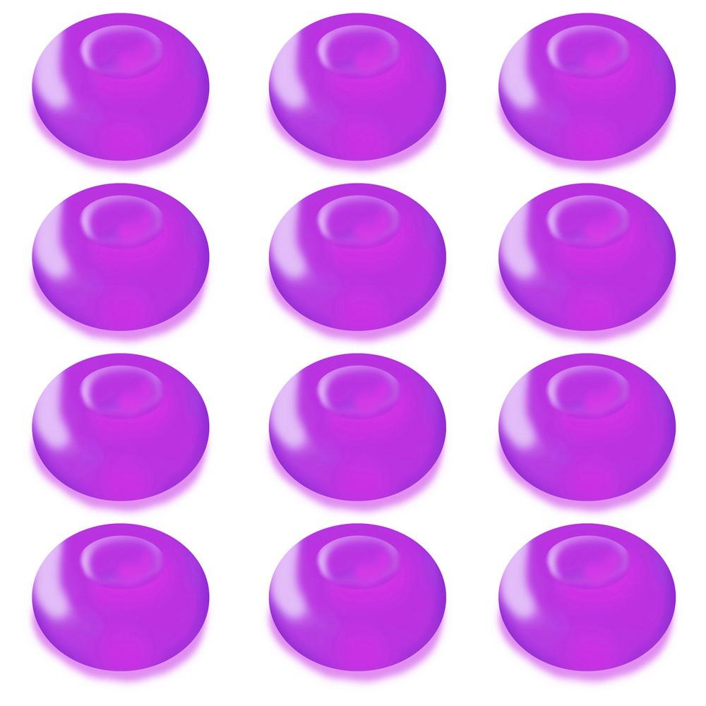 12ct Lumabase Purple Battery Operated Floating Blimp Led Lights