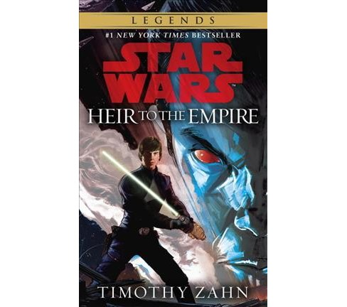 Heir to the Empire -  Reprint (Star Wars) by Timothy Zahn (Paperback) - image 1 of 1