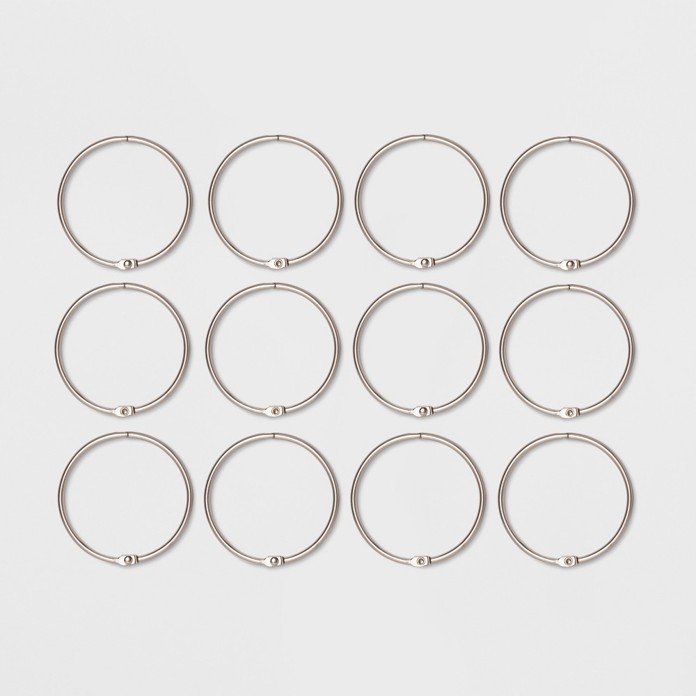O Ring with 3mm Wire Brushed Nickel - Made By Design