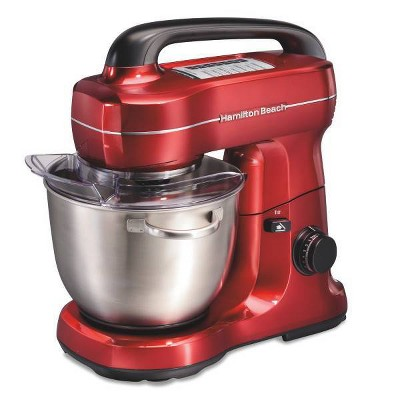 Hamilton Beach 7-Speed Hand Mixer - Red
