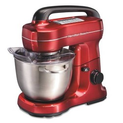 Hamilton Beach 7-Speed Hand Mixer - Red