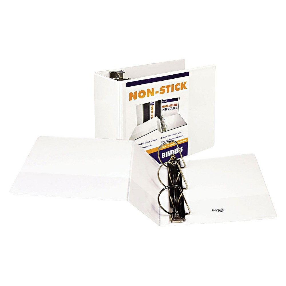 "Image of ""1050 Sheet 5"""" Ring Binder White"""