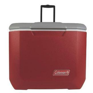 Coleman 60qt C-Tec Performance Wheeled Cooler - Red