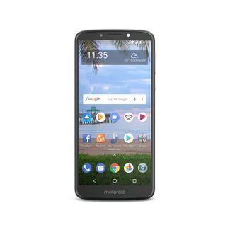 Tracfone Prepaid Motorola E5 (16GB) - Dark Gray