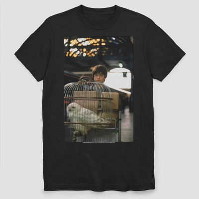 Men's Warner Bros. HP Platform 9 Short Sleeve Graphic Crewneck T-Shirt - Black