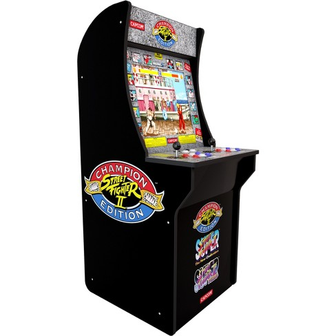 Arcade1Up Street Fighter II at Home Arcade Game - image 1 of 4