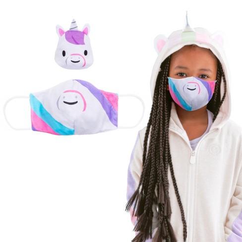 Cubcoats Uki the Unicorn Face Mask - image 1 of 2