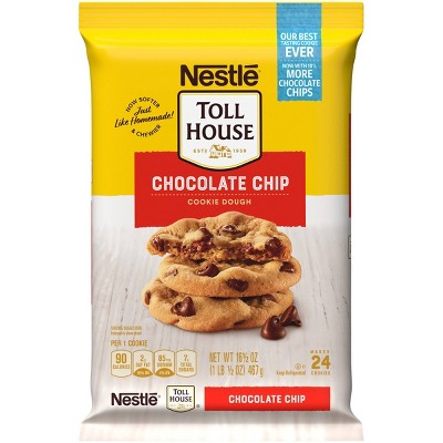 Nestle Tollhouse Chocolate Chip Cookie Dough - 16.5oz