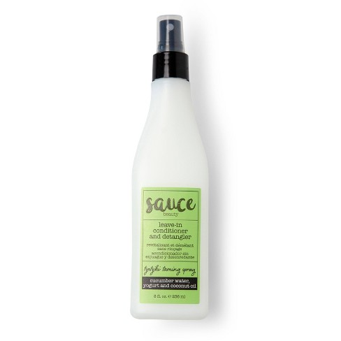Sauce Beauty Tzatziki Taming Spray Leave-In Conditioner and Detangler - 8 fl oz - image 1 of 2
