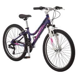 """Schwinn Ranger 24"""" Kids' Mountain Bike - Purple"""