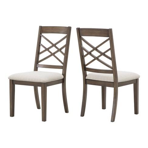 Set Of 2 Keagan Dining Chairs Espresso Inspire Q Target