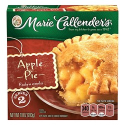 Marie Callender's Apple Pie with Frozen Cinnamon Sugar - 10oz