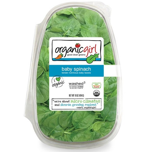 Organic Girl Baby Spinach - 16oz - image 1 of 3