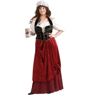 Forum Novelties Women's Tavern Wench Plus Size Costume