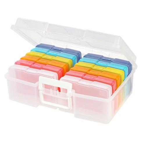 Iris 2pk Photo Storage Box And Craft, Craft Cases Storage