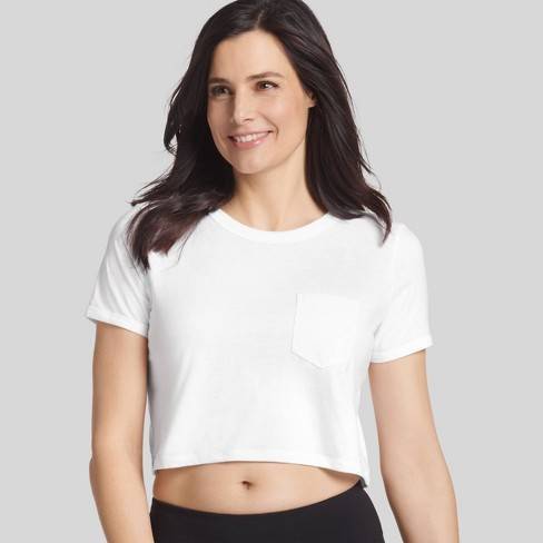 Jockey Generation™ Women's Retro Vibes Crop Top - image 1 of 3