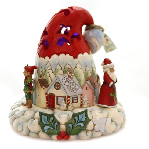 Hats Off To Christmas.Jim Shore 8 5 Hats Off To Christmas Magic Lighted Santa Hat