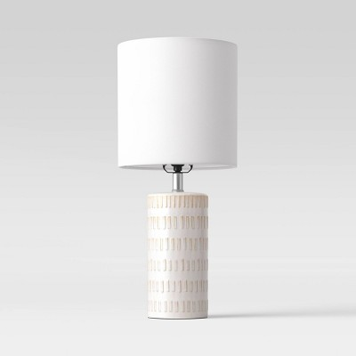 Large Assembled Ceramic Table Lamp (Includes LED Light Bulb)Off-White - Project 62™