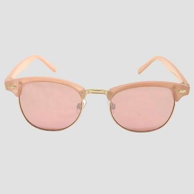 Women's Retro Round Sunglasses - Wild Fable™ Pale Pink