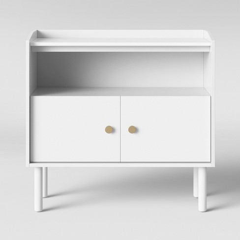 Wiley 2 Door Accent Cabinet White - Project 62™ - image 1 of 4