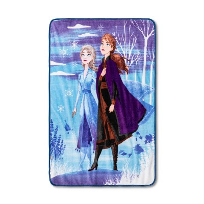 "46""x60"" Frozen 2 Hope and Wonder Throw Blanket - Disney store"
