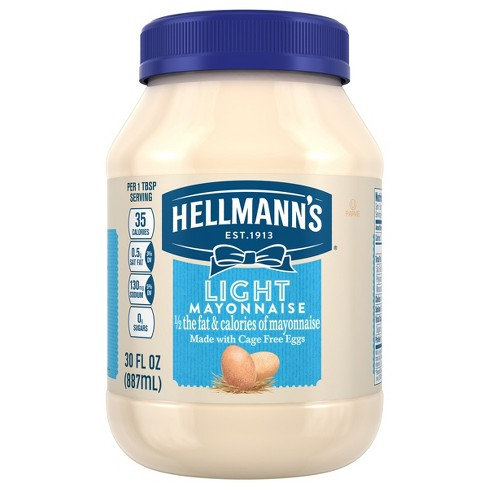 Hellmann's Mayonnaise Light - 30oz - image 1 of 5