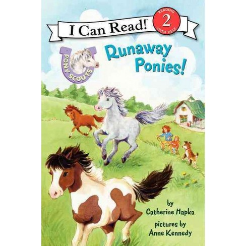 Pony Scouts: Runaway Ponies! - (I Can Read Level 2) by  Catherine Hapka (Paperback) - image 1 of 1