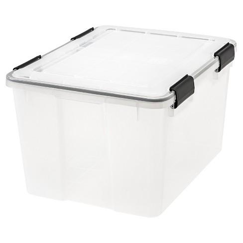 IRIS 6pk 46qt Weathertight Storage Box - image 1 of 4