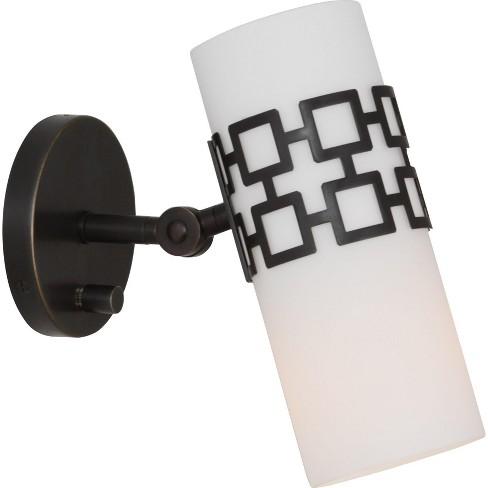 "Robert Abbey Parker Wall Lamp Parker 10"" Single Light Bathroom Sconce - image 1 of 2"