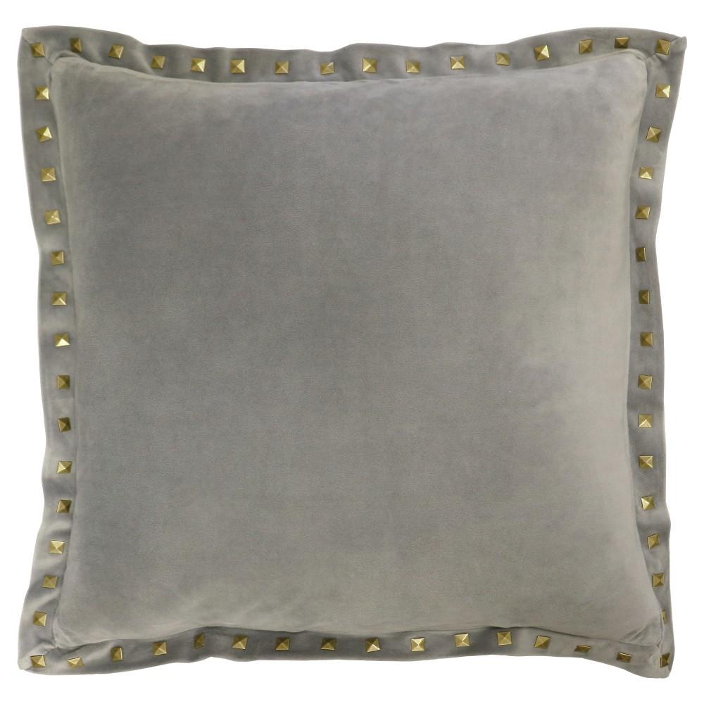 Gray Haworth Throw Pillow (18