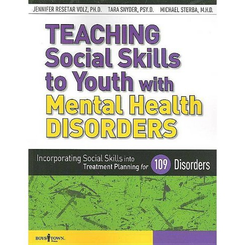 Teaching Social Skills to Youth with Mental Health Disorders - (Paperback) - image 1 of 1