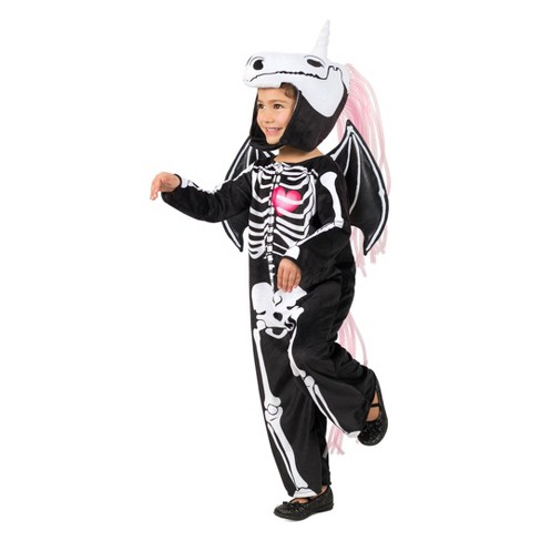 Girls' Skelly-Corn Halloween Costume - image 1 of 1