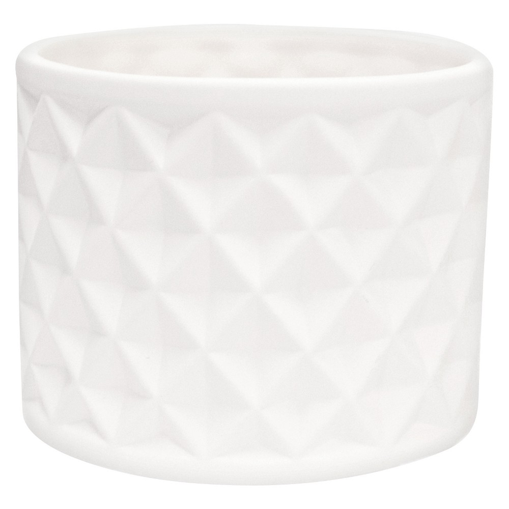 Hand Made Modern - Decorative Jar - Unfinished White