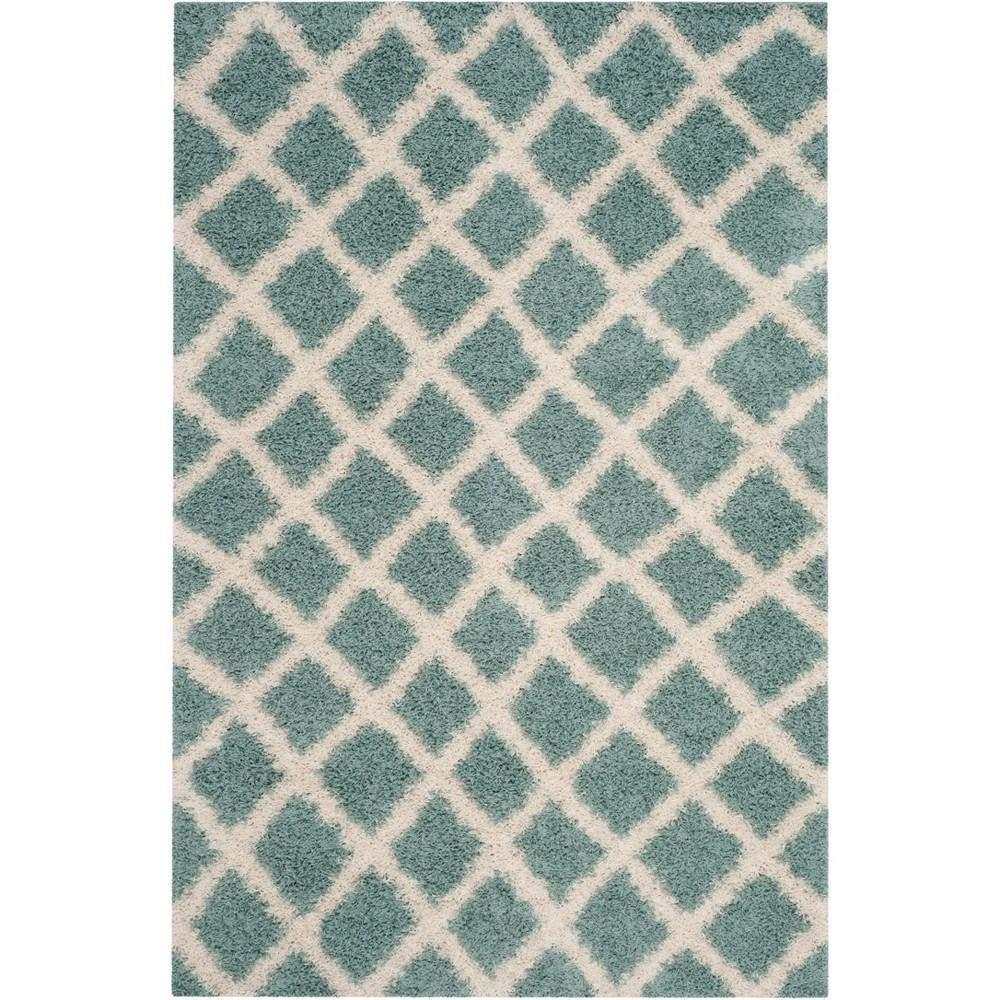3X5 Geometric Loomed Accent Rug Green - Safavieh Cheap